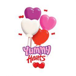 Heart Shaped Lollipops