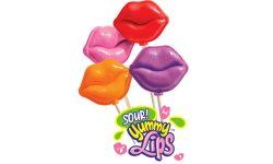 Sour Lip Lollipops