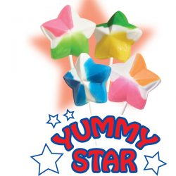 Star Shaped Lollipops