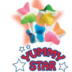 Star Shaped Lollipops