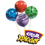 Color Exploder Lollipops