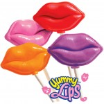Gourmet Kiss Shaped Lollipops