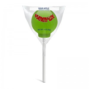 Yummy Lix Sour Apple Gourmet Lollipop