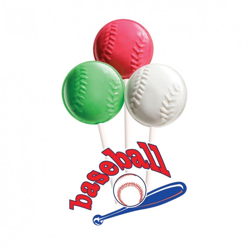 Baseball Lollipops